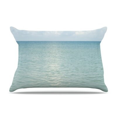 Cloud Reflection by Catherine McDonald Featherweight Pillow Sham Size: King, Fabric: Woven Polyester