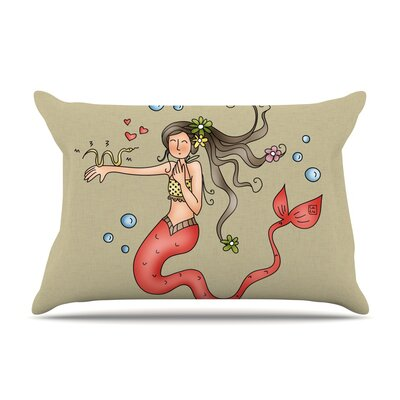Carina Povarchik 'Mermaids Lovely' Pillow Case
