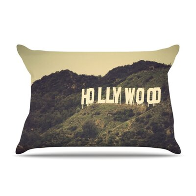 Hollywood by Catherine McDonald Featherweight Pillow Sham Size: King, Fabric: Woven Polyester