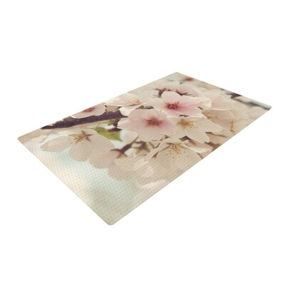 Catherine McDonald Divinity White/Pink Area Rug
