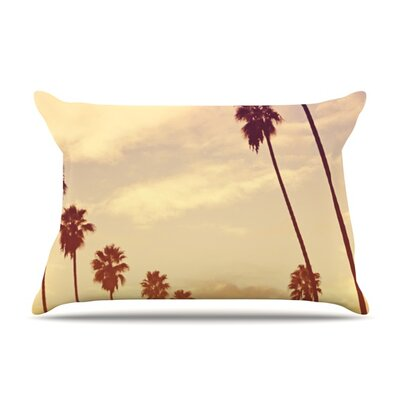 Endless Summer by Catherine McDonald Featherweight Pillow Sham Size: King, Fabric: Woven Polyester
