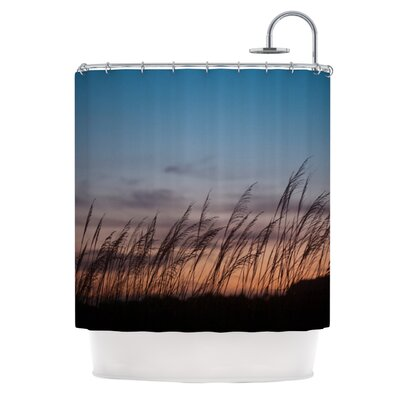 Catherine McDonald Sunset on the Beach Shower Curtain