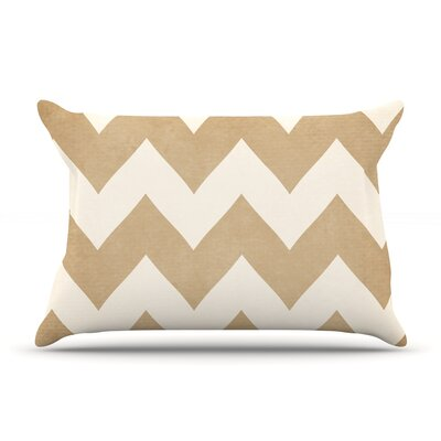 Biscotti and Cream by Catherine McDonald Featherweight Pillow Sham Size: Queen, Fabric: Woven Polyester