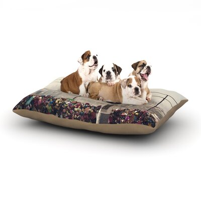 Catherine McDonald The View Seoul Dog Pillow with Fleece Cozy Top Size: Large (50 W x 40 D x 8 H)