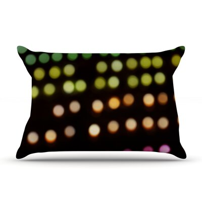 City Lights by Catherine McDonald Featherweight Pillow Sham Size: Queen, Fabric: Woven Polyester