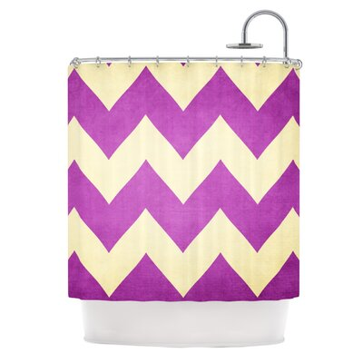 Catherine McDonald Juicy Chevron Shower Curtain