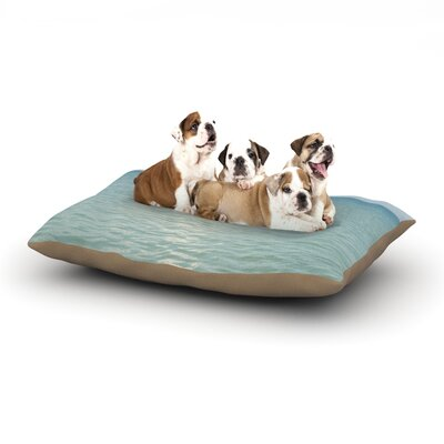 Catherine McDonald Cloud Reflection Dog Pillow with Fleece Cozy Top Size: Small (40 W x 30 D x 8 H)