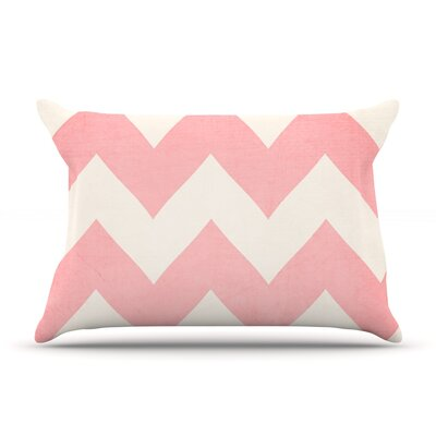 Sweet Kisses by Catherine McDonald Featherweight Pillow Sham Size: Queen, Fabric: Woven Polyester