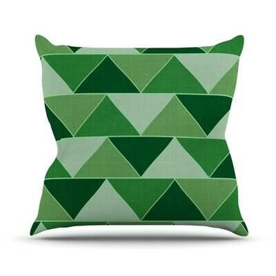 Emerald City by Catherine McDonald Throw Pillow Size: 26 H x 26 W x 1 D