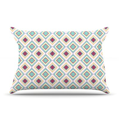 Hip Diamonds by Empire Ruhl Featherweight Pillow Sham Size: Queen, Fabric: Woven Polyester