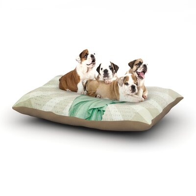Catherine McDonald The Lady Statue of Liberty Dog Pillow with Fleece Cozy Top Size: Large (50 W x 40 D x 8 H)