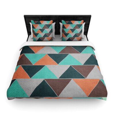 Catherine McDonald Woven Comforter Duvet Cover Size: King, Color: Southwest
