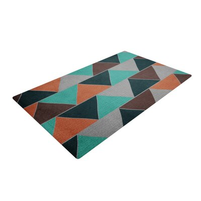 Catherine McDonald Southwest Black/Gray Area Rug Rug Size: 4 x 6