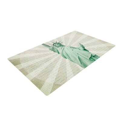 Catherine McDonald the Lady Statue of Liberty Area Rug Rug Size: 4 x 6