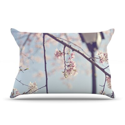 Walk with Me by Catherine McDonald Featherweight Pillow Sham Size: Queen, Fabric: Woven Polyester