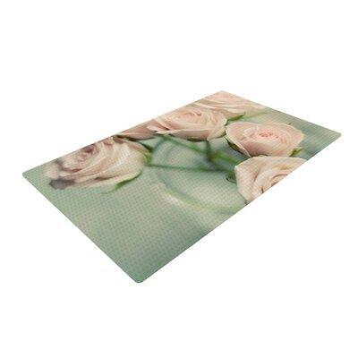 Cristina Mitchell Romance Teal/Blush Area Rug Rug Size: 2 x 3