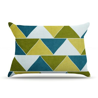 Mediterranean by Catherine McDonald Featherweight Pillow Sham Size: King, Fabric: Woven Polyester
