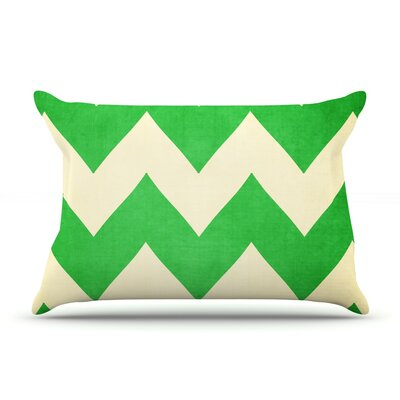 Granny Smith by Catherine McDonald Featherweight Pillow Sham Size: Queen, Fabric: Woven Polyester