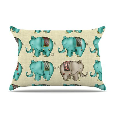 Dreamy Ellie by Carina Povarchik Featherweight Pillow Sham Size: King, Fabric: Woven Polyester