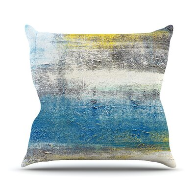 Make A Statement Throw Pillow Size: 18 H x 18 W x 1 D