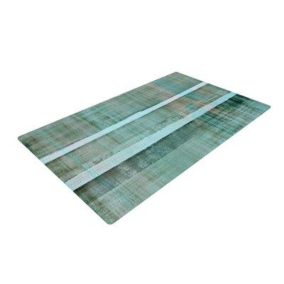 CarolLynn Tice Line Up Gray Area Rug Rug Size: 2 x 3
