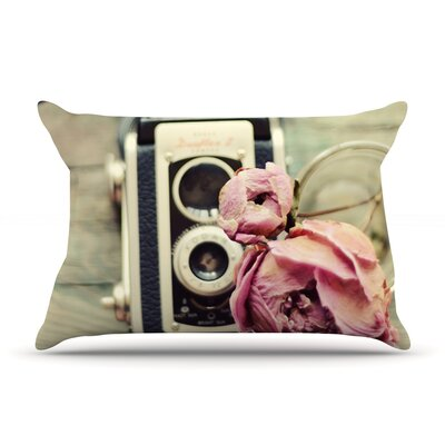 I Have But Two Loves by Cristina Mitchell Featherweight Pillow Sham Size: Queen, Fabric: Woven Polyester