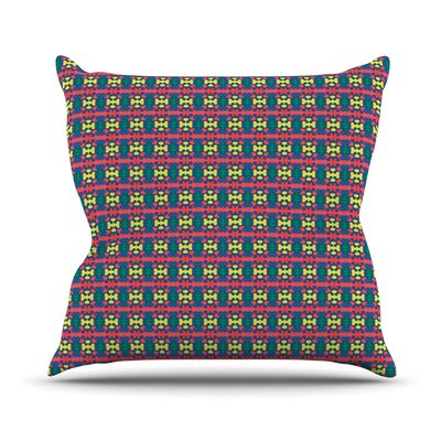 Delilah by Empire Ruhl Pattern Throw Pillow Size: 16 H x 16 W x 1 D