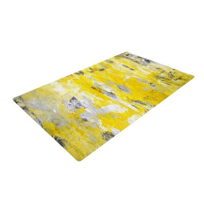 CarolLynn Tice Picking Around Yellow Area Rug Rug Size: 4 x 6