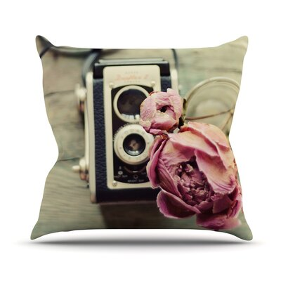 I Have But Two Loves by Cristina Mitchell Throw Pillow Size: 20 H x 20 W x 1 D
