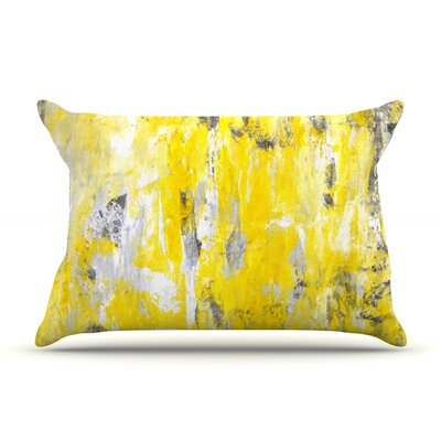 Picking Around by CarolLynn Tice Featherweight Pillow Sham Size: King, Fabric: Woven Polyester