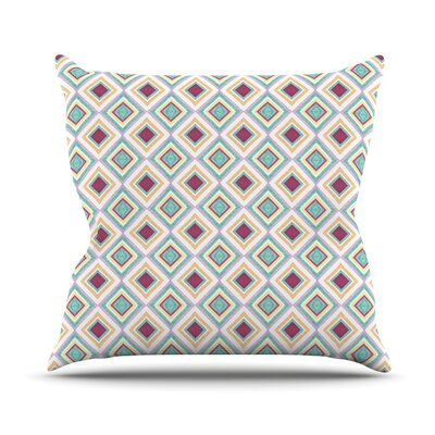 Hip Diamonds by Empire Ruhl Diamond Pattern Throw Pillow Size: 16 H x 16 W x 1 D