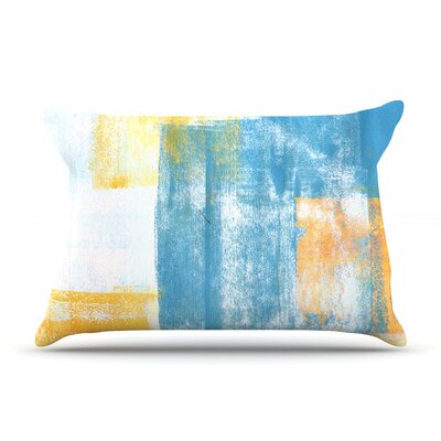 Color Combo by CarolLynn Tice Featherweight Pillow Sham Size: King, Fabric: Woven Polyester