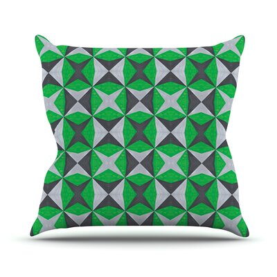 Abstract by Empire Ruhl Throw Pillow Size: 16 H x 16 W x 1 D