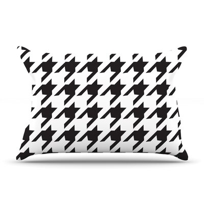 Spacey Houndstooth by Empire Ruhl Featherweight Pillow Sham Size: Queen, Fabric: Woven Polyester
