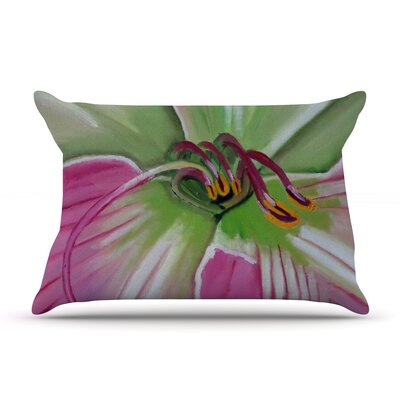 Cathy Rodgers  Flower Pillow Case