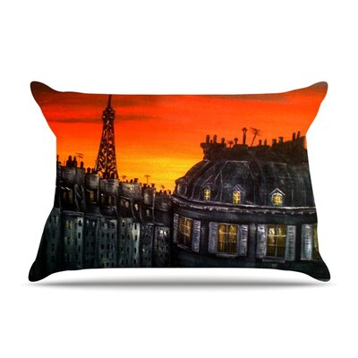 Christen Treat Paris Featherweight Sham Size: King, Fabric: Woven Polyester