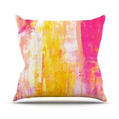 Growing Taller by CarolLynn Tice Throw Pillow Size: 18 H x 18 W x 1 D