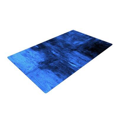 CarolLynn Tice Deep Sea Blue Area Rug Rug Size: 2 x 3