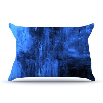 Deep Sea by CarolLynn Tice Featherweight Pillow Sham Size: King, Fabric: Woven Polyester