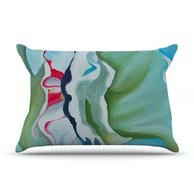 Cathy Rodgers Peony Shadows Flower Pillow Case