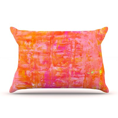 Wiggle by CarolLynn Tice Featherweight Pillow Sham Size: Queen, Fabric: Woven Polyester