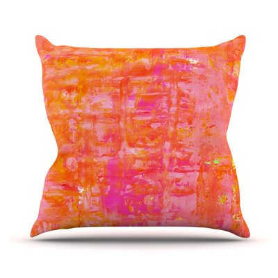 Wiggle by CarolLynn Tice Throw Pillow Size: 16 H x 16 W x 1 D