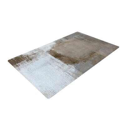 CarolLynn Tice Calm and Neutral White/Brown Area Rug