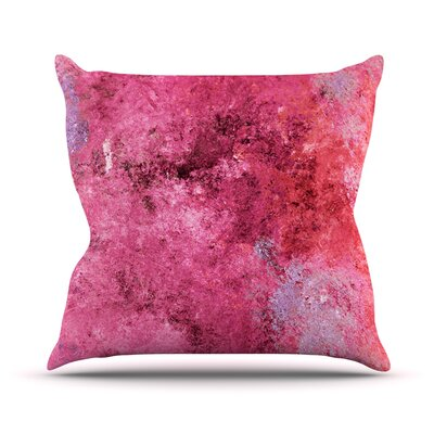 Cotton Candy by CarolLynn Tice Throw Pillow Size: 16 H x 16 W x 1 D