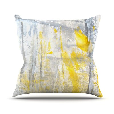 Abstraction by CarolLynn Tice Throw Pillow Size: 16 H x 16 W x 1 D
