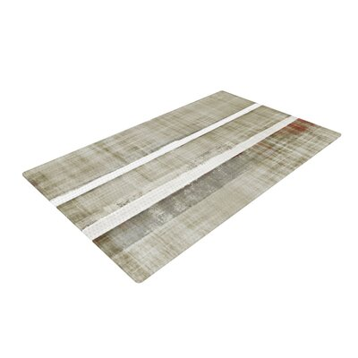 CarolLynn Tice Loving Life White/Brown Area Rug Rug Size: 4 x 6