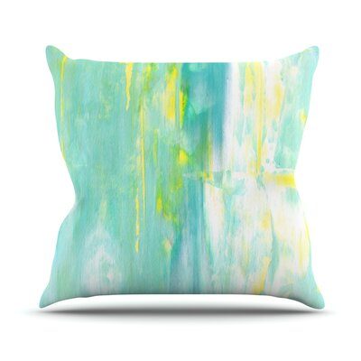 Spring Forward by CarolLynn Tice Throw Pillow Size: 16 H x 16 W x 1 D