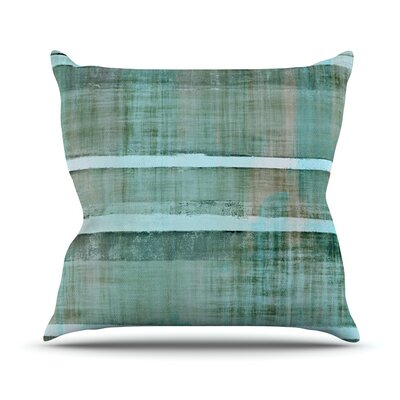 Line Up Throw Pillow Size: 16 H x 16 W x 1 D
