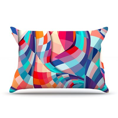 Versicolor by Danny Ivan Featherweight Pillow Sham Size: King, Fabric: Woven Polyester