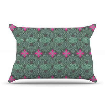 Chevron and Dots by Deepti Munshaw Featherweight Pillow Sham Size: King, Fabric: Cotton